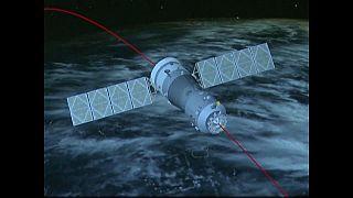 المختبر الفضائي تيانقونغ-1 سيدخل الغلاف الجوي للأرض الاثنين