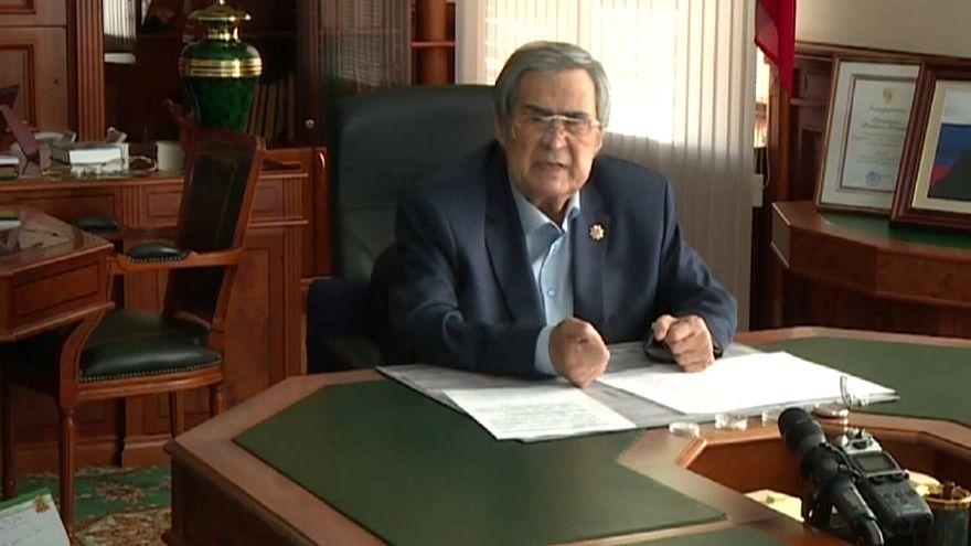 Governador da região de Kemerovo renuncia ao cargo