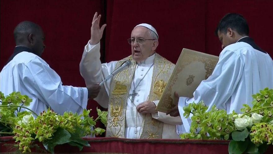 """El papa Francisco pide el fin del """"exterminio"""" en Siria"""