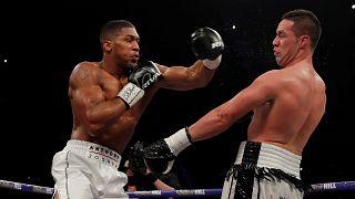 Boxe : Joshua domine Parker