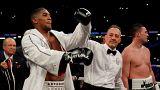 Boxen: Anthony Joshua ist Dreifach-Schwergewichts-Champion