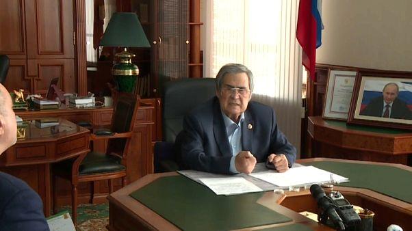 Rusya'da AVM yangını sonrası bölge valisi istifa etti