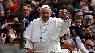 Papst fordert Frieden - vor allem für Syrien