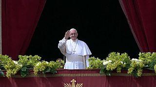 Papa'dan Suriye ve Filistin'de barış çağrısı