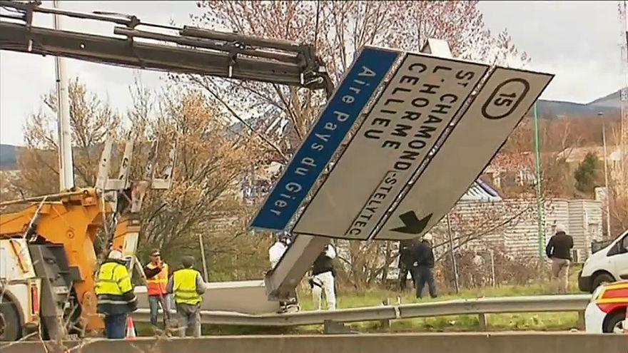Fransa'da uçak kazası