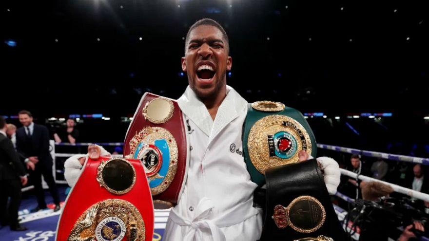 İngiliz boksör Anthony Joshua rakip tanımıyor