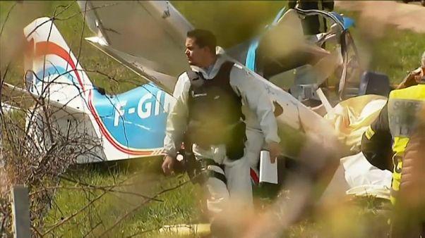 Accidente aéreo en una autopista del sureste de Francia