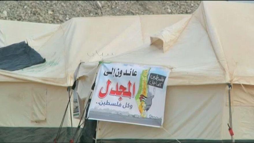 """الفلسطينيون ومسيرة العودة الكبرى: خيامنا قد نُصبت """"وأجراس العودة فلتُقرع"""""""
