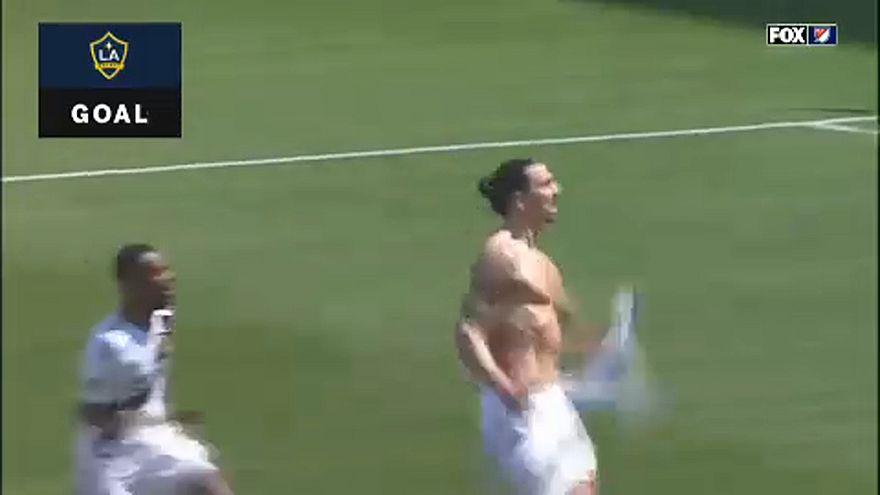 Labdarúgás: Ibrahimovic-os belépő Los Angelesben