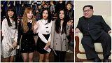 رهبر کره شمالی به کنسرت خوانندگان پاپ کره جنوبی رفت
