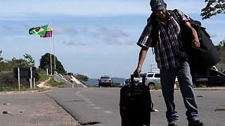 Migliaia di venezuelani in Brasile