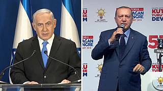 "إردوغان يصف نتنياهو ""بالإرهابي"" بعد سقوط ضحايا غزة"