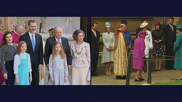 Ostergottesdienst mit den Royals
