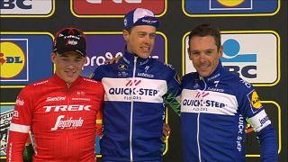 Podio del Tour de Flandes