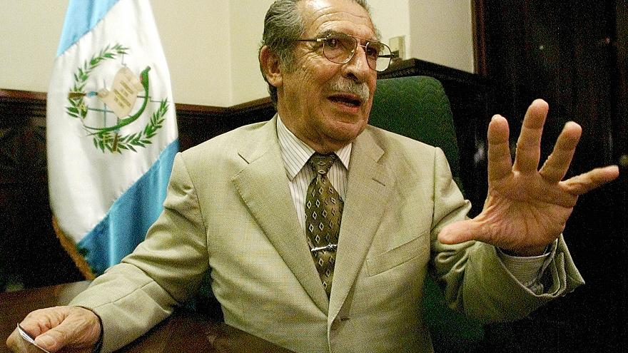 El general Efraín Ríos Montt