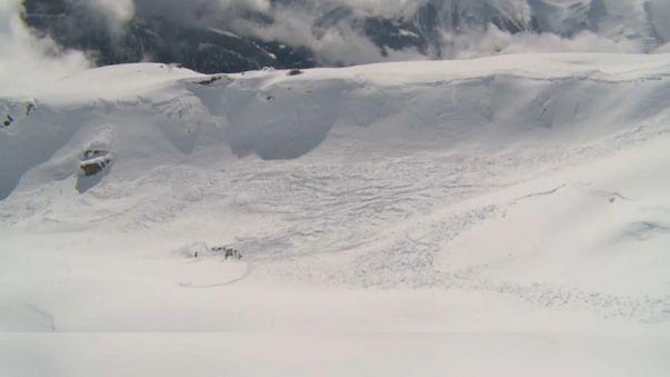 Avalanche meurtrière en Suisse