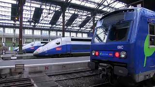 Három hónapos sztrájk kezdődik a francia vasúton