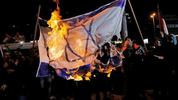 Anti-Israel-Proteste in Istanbul