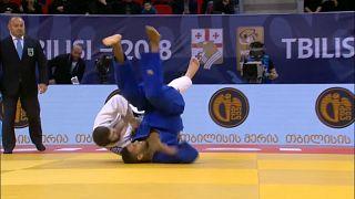 Judo: Tiflis'te heyecan doruktaydı