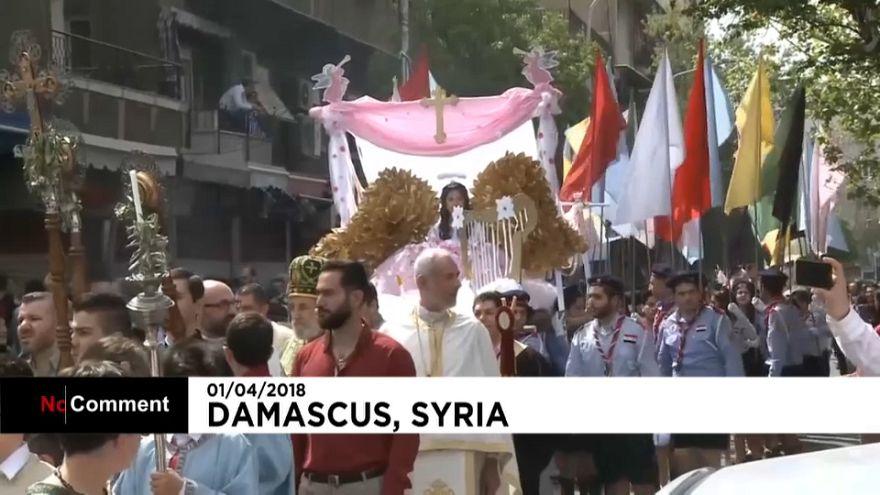 Les chrétiens d'Orient célèbrent Pâques