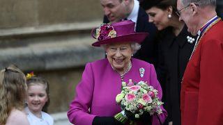 شاهد احتفال العائلات المالكة بعيد الفصح
