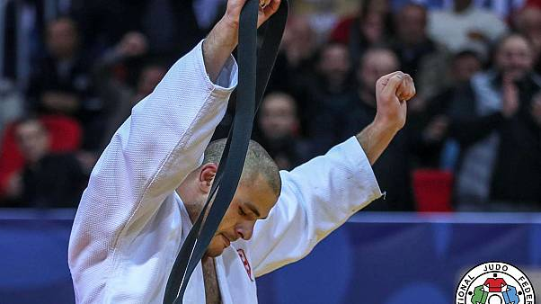 Tushishvili pone al público georgiano a sus pies en la clausura del Gran Premio de Tiflis de judo