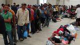 Karavánokban érkeznek a migránsok Amerikába Trump szerint