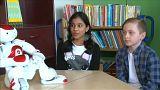 Tanító robotok Finnországban