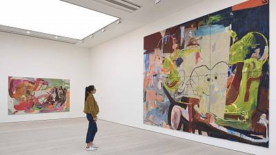 An art installation in the Saatchi Gallery's Known Unknowns exhibition