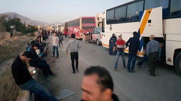 Accord des rebelles pour quitter la Ghouta orientale