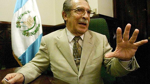 Le dictateur du Guatemala, Efrain Rios Montt, mort le 1er avril 2018.