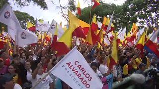 Карлос Альварадо Кесада - новый президент Коста-Рики