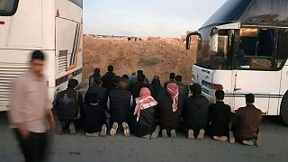 سوریه؛ اولین گروه از جنگجویان جیشالاسلام از دوما در غوطه شرقی خارج شدند