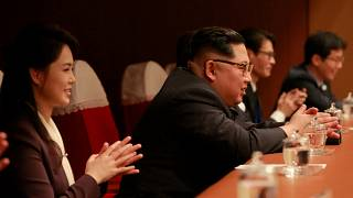 Kim Jong-un attends K-pop performance by South Korean artists in Pyongyang