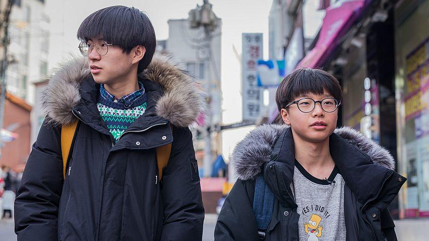 Kim Jong un'dan kaçıp Güney'e sığınan genç Koreliler
