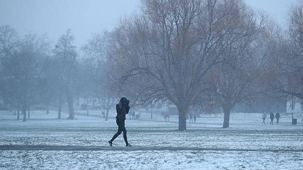 Easter Monday travel hit by heavy rain, snow