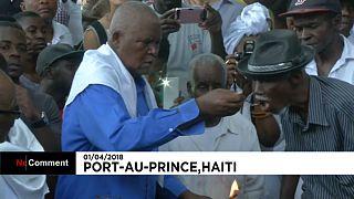 برگزاری مراسم سنتی آئین وودو در هائیتی همزمان با عید پاک