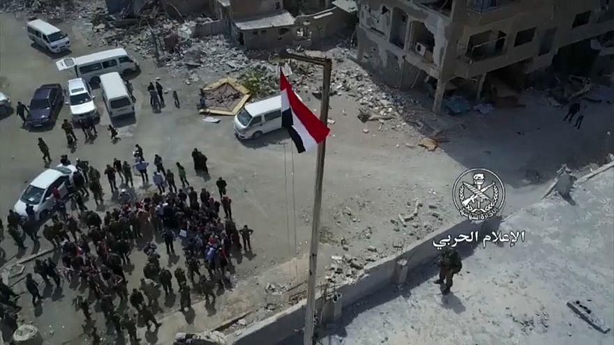 Ost-Ghouta unter Assads Kontrolle