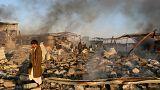 یمن؛ ۱۶ نفر در حملات هوایی نیروهای ائتلاف عربی کشته شدند