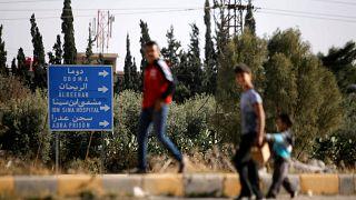 Último grupo rebelde começou a abandonar Douma