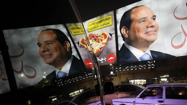 Egypt's president scoops election win with 97 percent of the vote