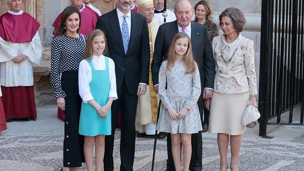 Das letzte Mal hatte er 2014 teilgenommen: Spaniens König Juan Carlos.