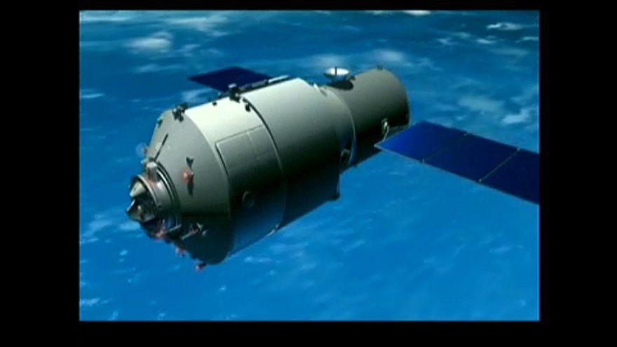 A Csendes-óceánba csapódott a kínai űrállomás