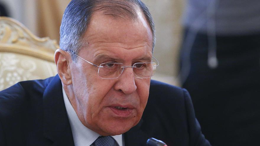 The Russian Foreign Minister said Britain could benefit from poisoning.