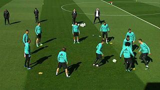 تمرین رئال مادرید پیش از دیدار حساس مقابل یوونتوس