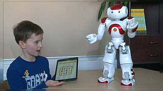 Arriva Elias, il robot insegnante