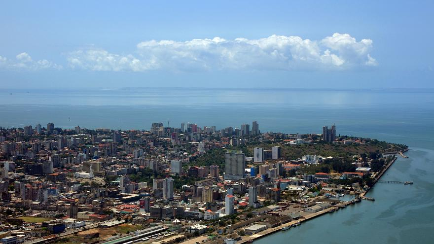 Perspetiva aérea da capital de Moçambique em 2010 (arquivo)