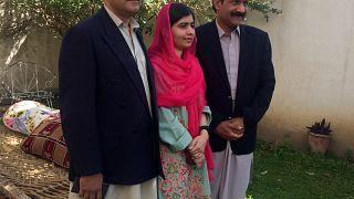 Malala clôt sa visite au Pakistan