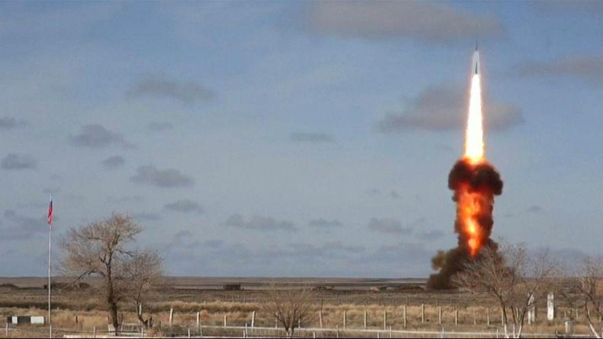 روسیه سامانه پدافند موشکی جدید خود را در قزاقستان آزمایش کرد