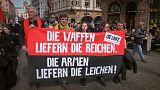 Marcha por la paz en Alemania
